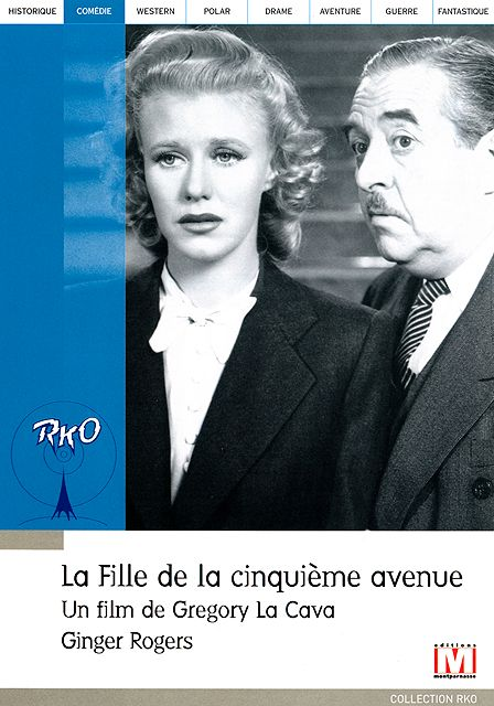 La fille de la Cinquième Avenue de Gregory La Cava, RKO 1939 dvd